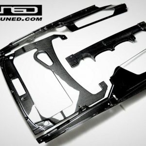 2009-2014-Lamborghini-Gallardo-Coupe-Carbon-Fiber-Engine-Bay-Set-2x2-Weave-New-291612997440