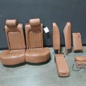 Maserati-M139-Quattroporte-Complete-Rear-Seat-Assembly-Cuoio-Used-302159092650