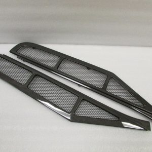 Ferrari-458-Coupe-Carbon-Fiber-Engine-Deck-Lid-Grille-Louvers-New-1x1-Weave-121685352771