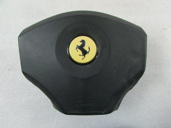 Ferrari 456, LH, Left Steering Wheel Air Bag, Black, Used, 72019600