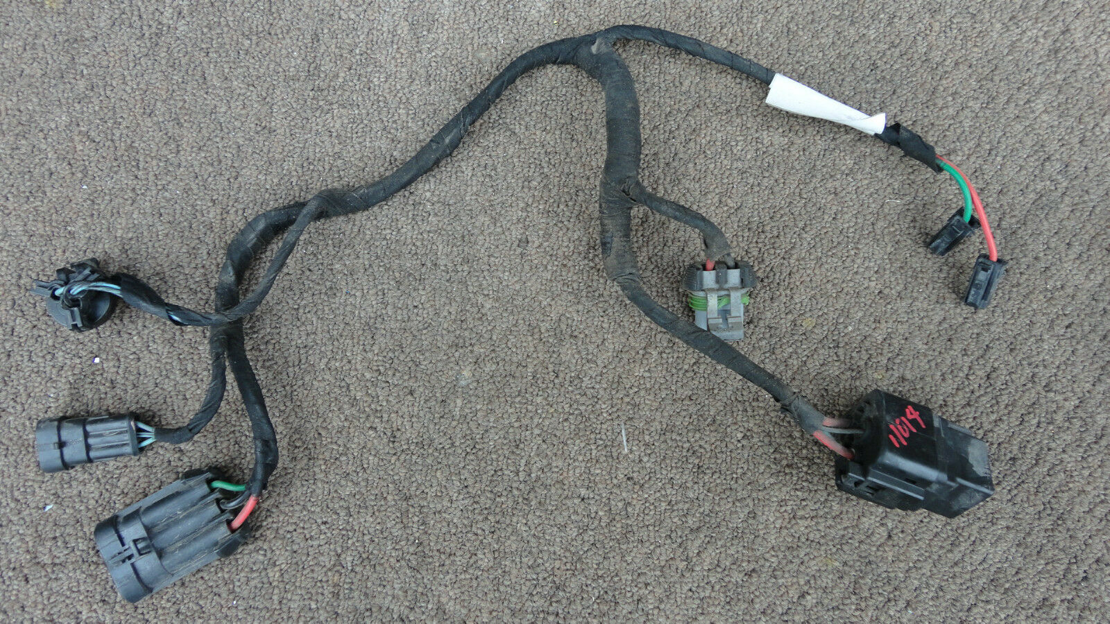 ferrari 360, rh radiator cooling fan wiring harness, p/n 179010 - exotic  auto recycling -