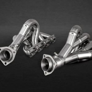 Ferrari-430-Capristo-Headers-with-Heat-Shield-Protectors-Blankets-New-301672092486