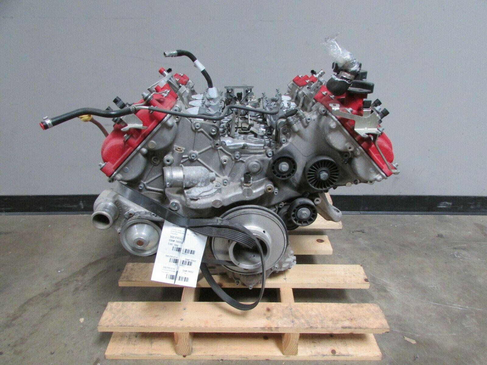 Ferrari California, Long Block Engine Assembly, Used