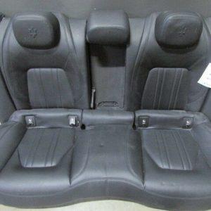 Maserati-Ghibli-Complete-Rear-Seat-Black-Used-292042085987