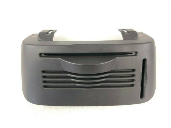 Maserati M138, Center Console CD Trim Bezel, Black, Used, P/N 66191800