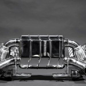Ferrari-430-Scuderia-Capristo-Valved-Exhaust-System-200-Cell-Cats-Heat-Shields-302676377408