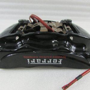 Ferrari-California-T-LH-Left-Rear-Brake-Caliper-CCM-Black-Used-PN-311668-302615541238