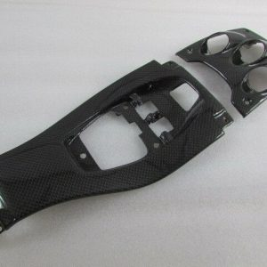 Ferrari-458-Italia-Center-Console-Front-Middle-Carbon-Fiber-Switch-Bezels-New-122620220629