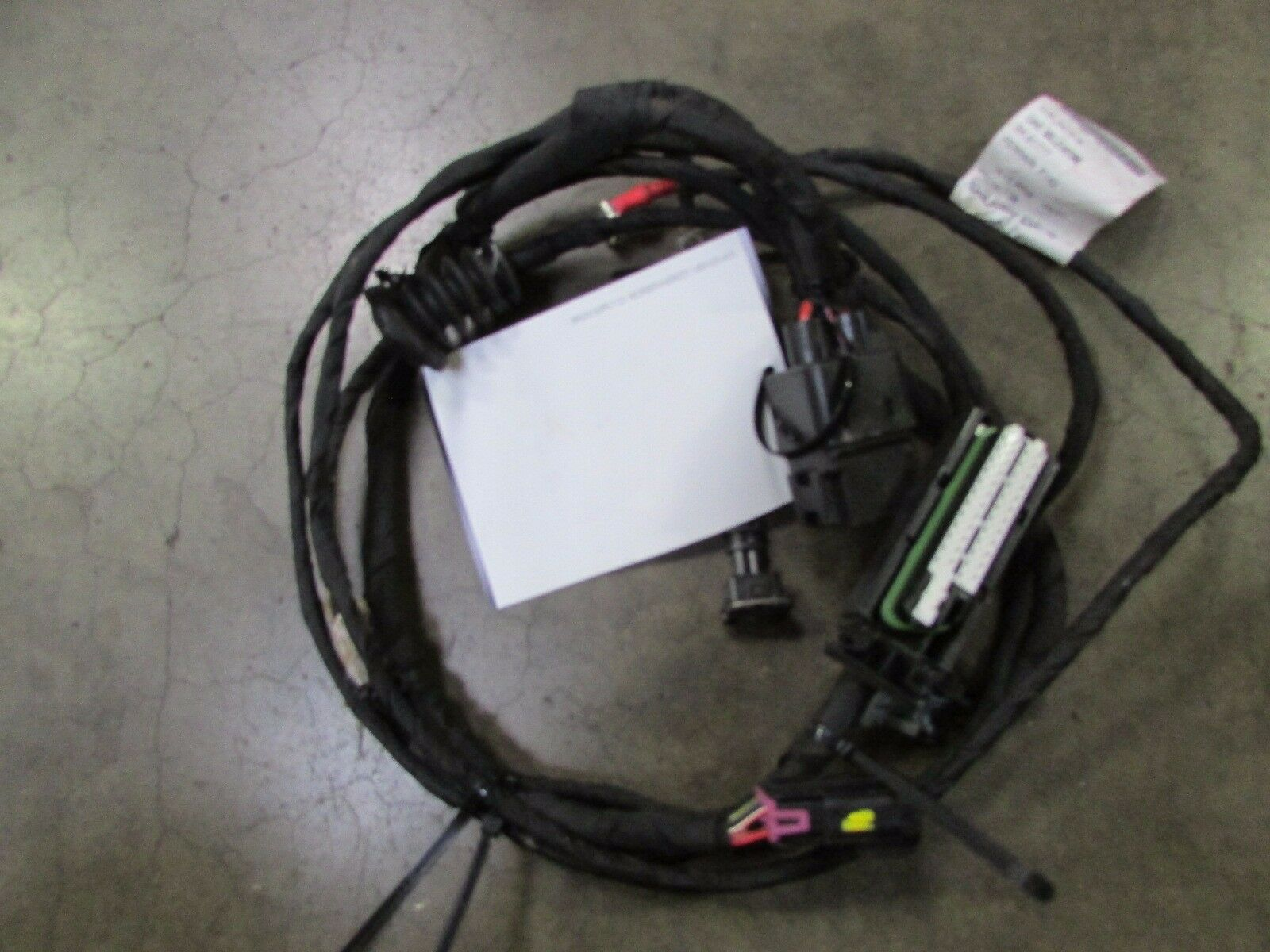 Ferrari 458 Italia , Vehicle Lift Wire Harness, Used, P/N 261318 on